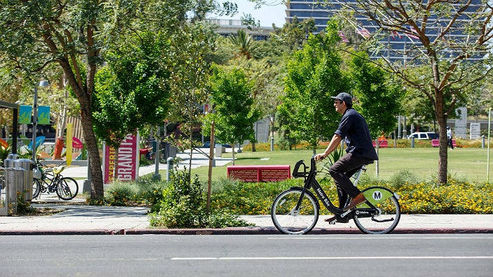 Metro Bike Share at Grand Park