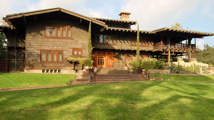 Gamble House in Pasadena